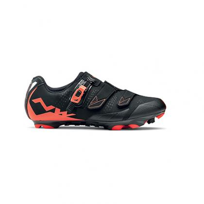 Northwave Scream 2 SRS Shoes-Black Lobster Orange 72f03e093